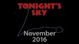Tonight's Sky: November 2016
