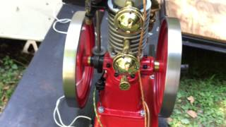 Scale Model Vertical Hit and Miss Engine