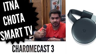 Chromecast 3  Google screen mirror iPhone and Android cast