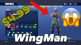"*NEW* ""WINGMAN"" FORTNITE STARTER PACK! (ITS WORTH IT!)"