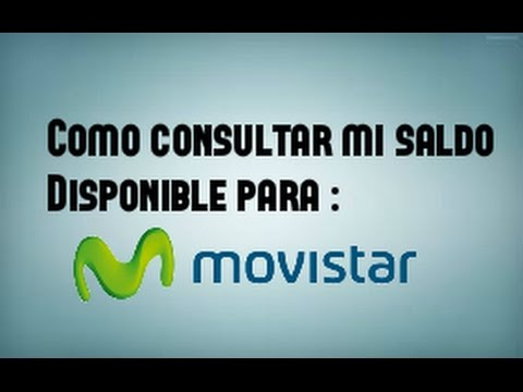 257cd5960d0 Como saber saldo disponible para MOVISTAR facil y Rapido - YouTube
