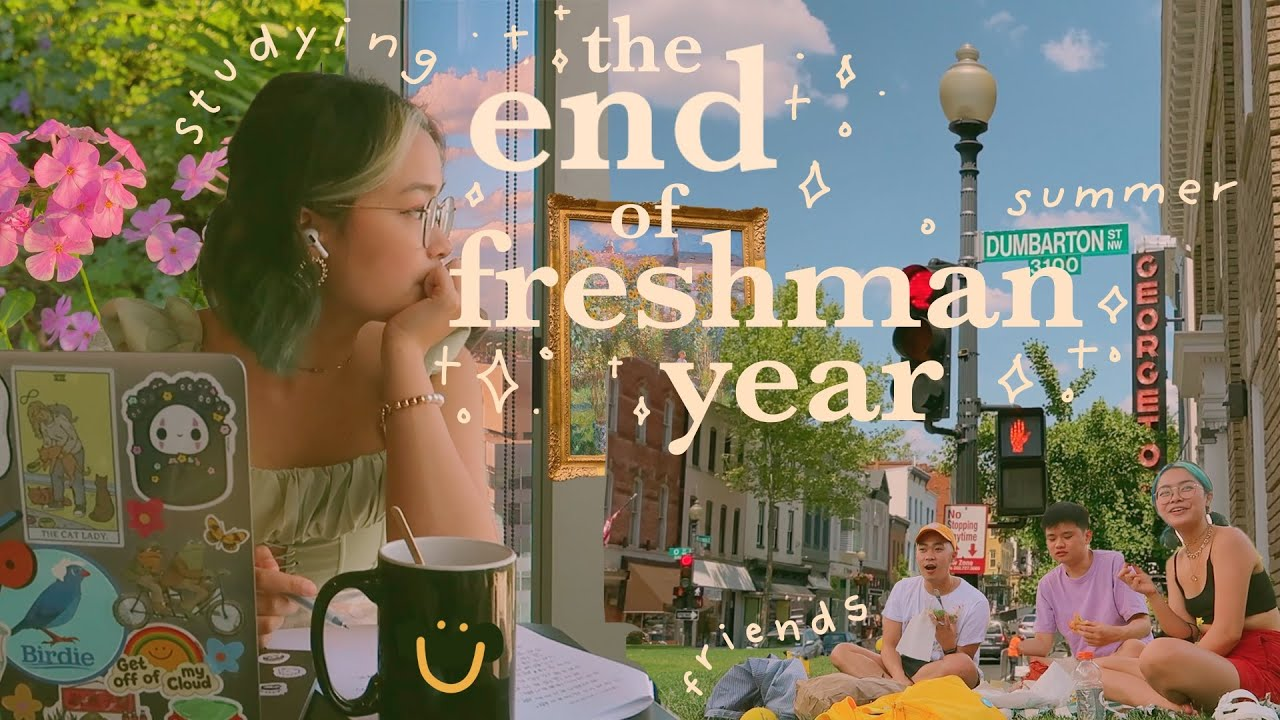 Download THE END OF FRESHMAN YEAR: studying for finals, summer break, and sunny days with friends // vlog 012
