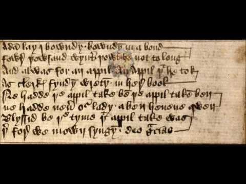 42 - Adam lay i bowndyn (Medieval carol)