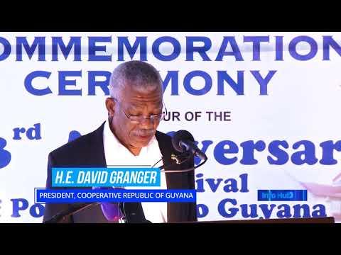 Portuguese contribution to Guyana's development recognized