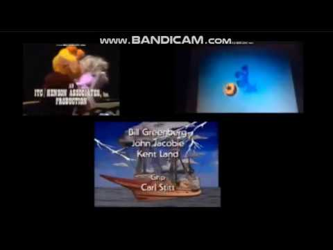 Barney, Blue's Clues, Fraggle Rock and The Muppet Show Credits Remix