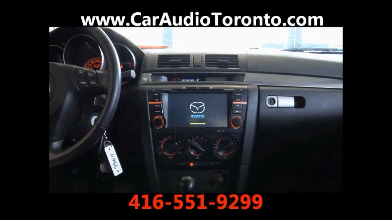mazda 3 navigation dvd youtube. Black Bedroom Furniture Sets. Home Design Ideas