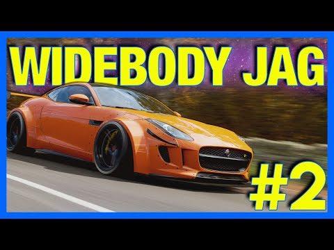 Forza Horizon 4 Let's Play : Widebody Jaguar F-Type!! (Part 2)