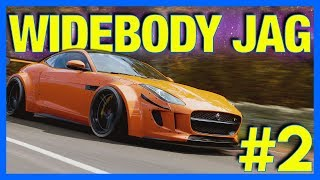Forza Horizon 4 Let's Play : Widebody Jaguar F-Type!! (Part 2)