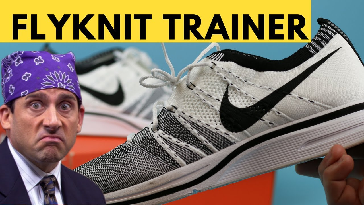 promo code 397d8 bbf9f Nike Flyknit Trainer White Review and Unboxing (Cookies and Cream Flyknit  Trainer)