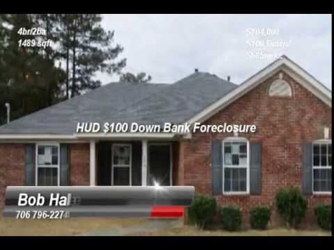West Augusta Best Foreclosures | Bob Hale Realty 706 796-2274