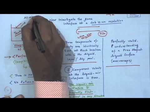 Mod-01 Lec-32 Spontaneous instability and dwetting of thin polymer film - II