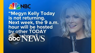 NBC drops Megyn Kelly's morning talk show