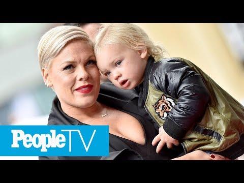 Pink Details 'Rollercoaster' Coronavirus Symptoms As Her Son, 3, Says He's Feeling Better | PeopleTV