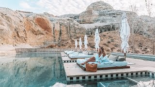STAYING AT AMANGIRI!! One of the worlds coolest hotels