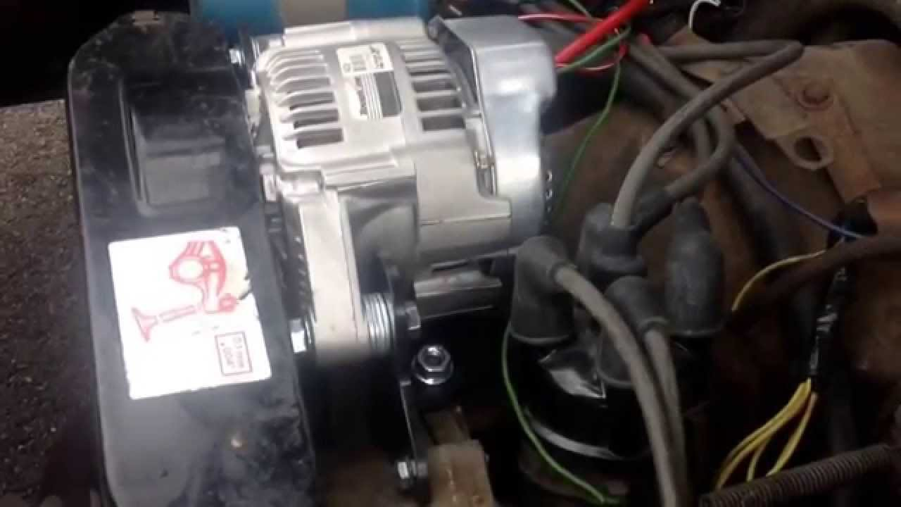 Farmall H Wiring Diagram For 6 Volt Volkswagen Type 3 Generator To Alternator Conversion Youtube