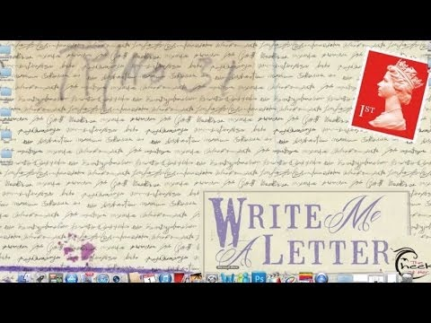 Write Me a Letter - The Cheek of Her - Lyric Video