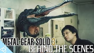 Metal Gear Solid 3 - Behind the Scenes and Beta Gameplay [Making of]
