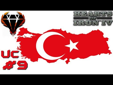 Hearts of Iron 4 - Modern Day Mod 2017 - Conservative Turkey - Taking Europa with friends! #9