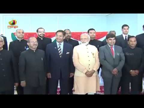 PM Narendra Modi Interaction With Indian Consulate Officials In Herat   Afghanistan   Mango News