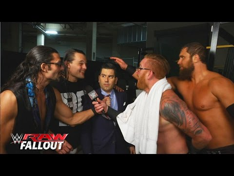 Die Social Outcasts übernehmen Den Backstage-Bereich: Raw Fallout, 4. Januar 2016