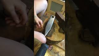 Creating a copper cocktail pick