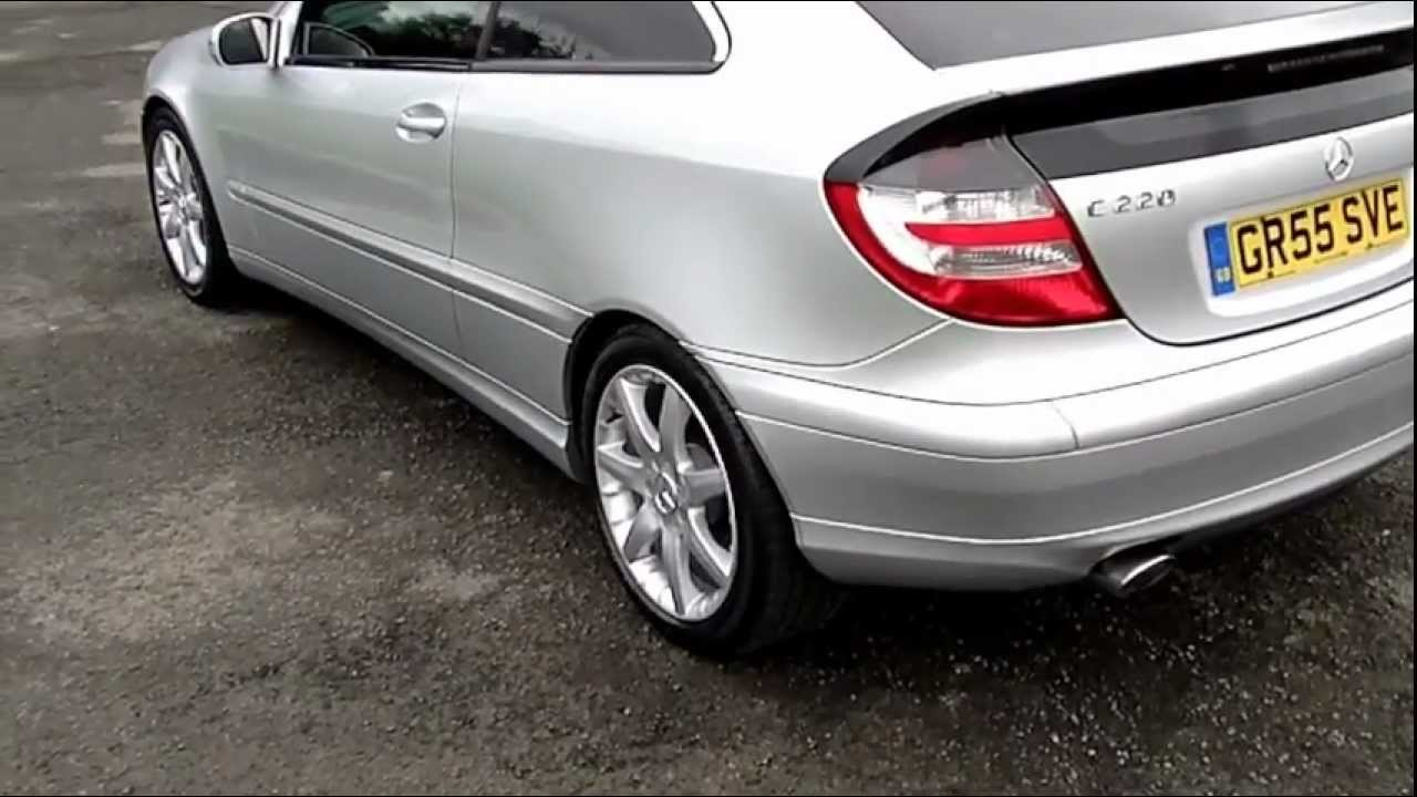2005 mercedes c220 cdi coupe se 78k fsh now sold youtube. Black Bedroom Furniture Sets. Home Design Ideas