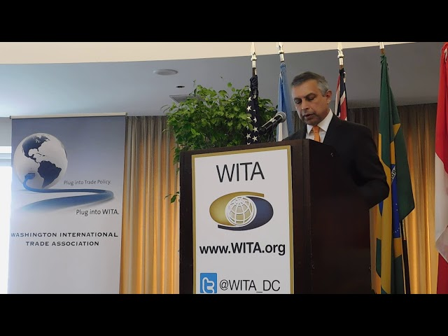 1/24/18 Trade Around the World Prt 2- Ambassador Mirpuri of Singapore