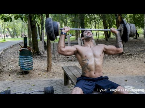 Leandro Lo's Strength Workout In An Outdoor Primitive Gym
