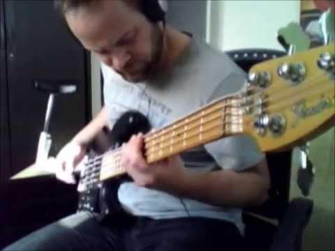 Deliverance | Cult Of Luna Bass Cover | Fender Jazz Bass Modern Player 5