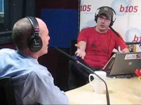 Campbell Newman on B105 Radio