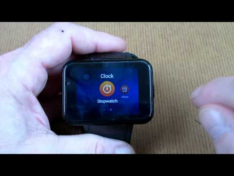 "DM98 SmartWatch 2.2"" Review"