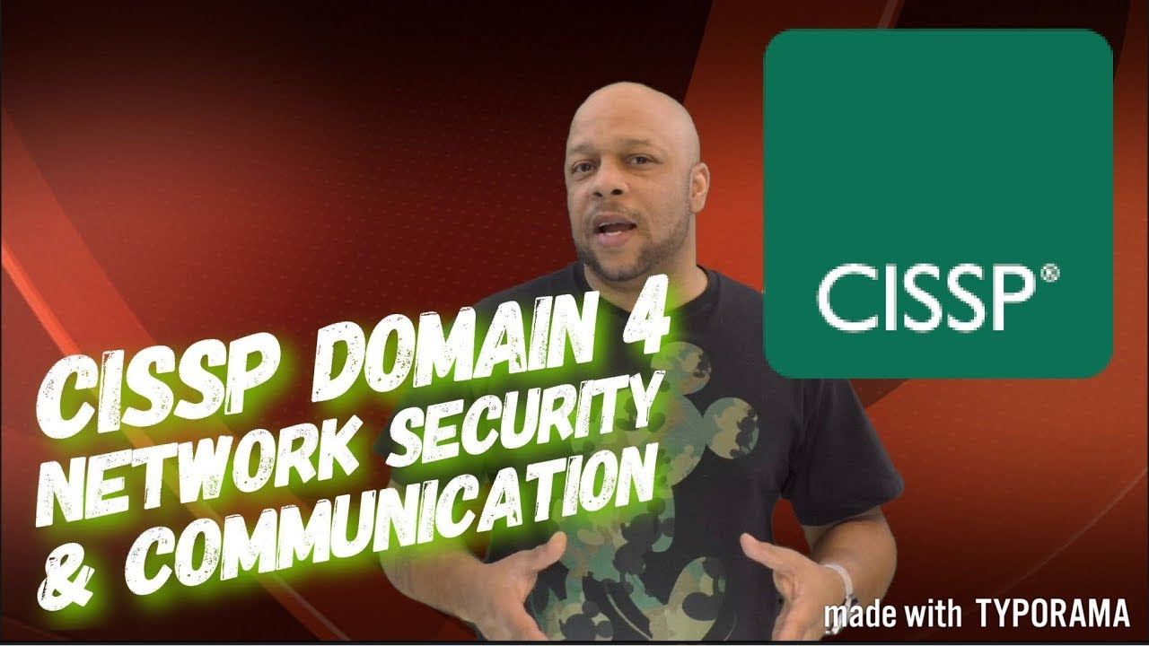 CISSP Domain 4 l Network Security and Communication - Part 1 l CISSP  Certification l ARECyber LLC