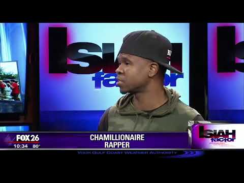 How businessman and entertainer Chamillionaire is helping hurricane victims in Houston!