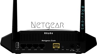 Netgear R6260 Wifi Router Review