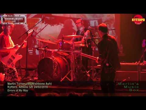 Martin Turner ex Wishbone Ash - Warrior / Throw Down the Sword @ Kyttaro 24/02/2018