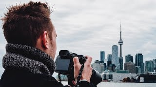 FIRST TIME IN CANADA! — Toronto Travel Photography Vlog