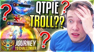 IMAQTPIE TROLLING IN MY GAME??? D1 HERE I COME - Journey To Challenger | League of Legends