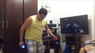 "Rodrigo Dançando ""Just Dance 2016"" - PS3 - Martin Garrix - Animals"