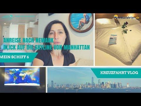 Anreise Von Hamburg Nach Newark Zur Mein Schiff  - (Mein Schiff 6 Vlog 1)