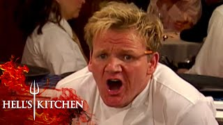 WHERE'S THE LAMB SAUCE?! | Hell's Kitchen
