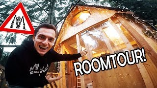 The BIG ROOMTOUR in our DREAM-TREEHOUSE! | NOW with ENGLISH SUBTITLES #8