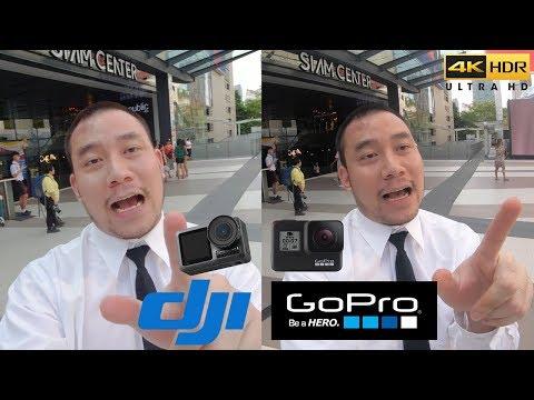 DJI Osmo Action vs GoPro Hero 7 รีวิวฉบับดูจบแล้วซื้อถูกเลย!! + ไฟล์วีดีโอ   KP   KhuiPhai