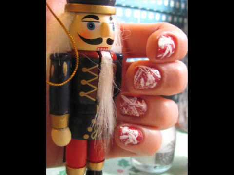 Abstract Snowflake Nail Design Youtube