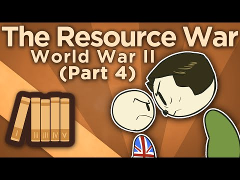 WW2: The Resource War - IV: Strategic Bombing - Extra History