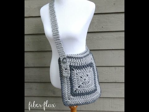 How To Crochet The Cozy Messenger Bag, Episode 237