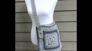 How To Crochet the Cozy Messenger Bag, Episode 237