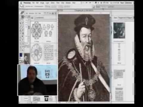 ENOCHIAN ALPHABET II - DR. DEE   THE ANCIENT LANGUAGE OF ELOHIM - 1.flv
