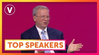 fireside chat with eric schmidt alphabet inc best of vivatech 2016