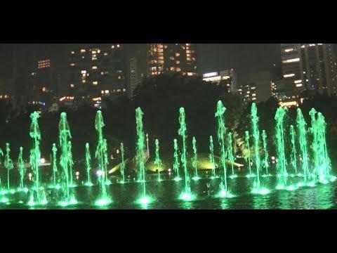Kuala Lumpur - KLCC water fountain music light show #3