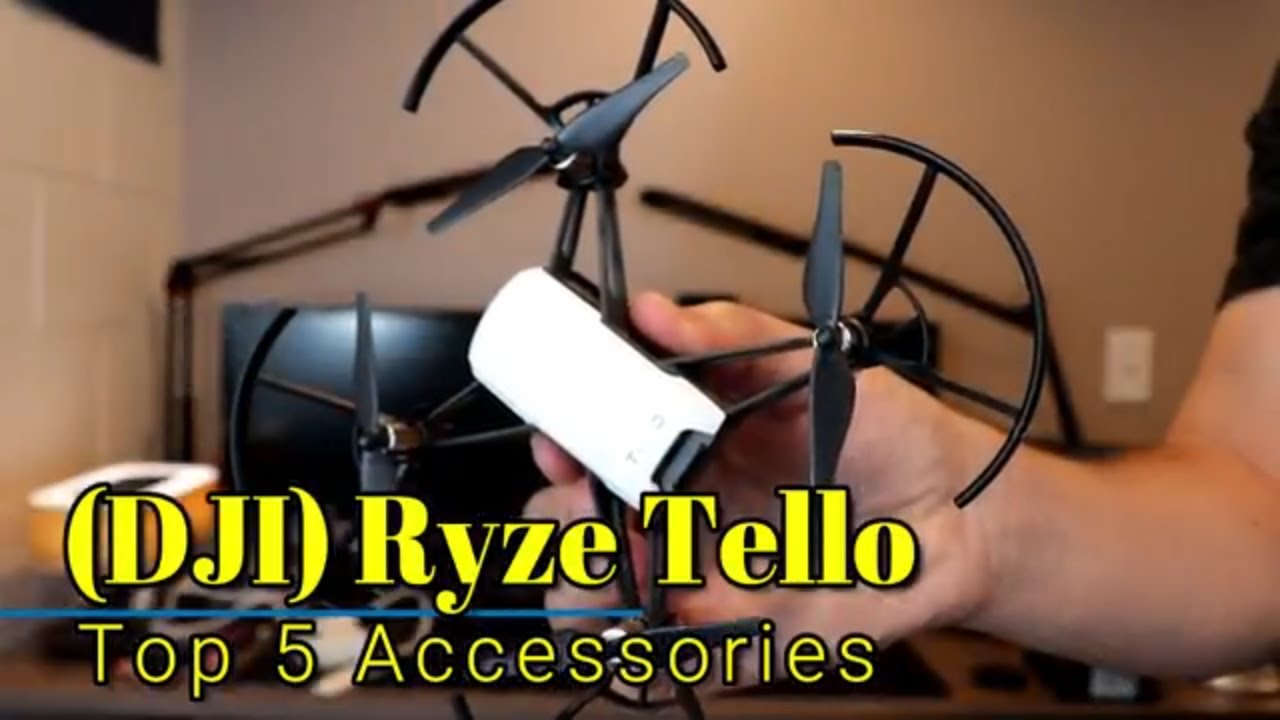 DJI Ryze Tello: Top 5 accessories to get for your Tello!
